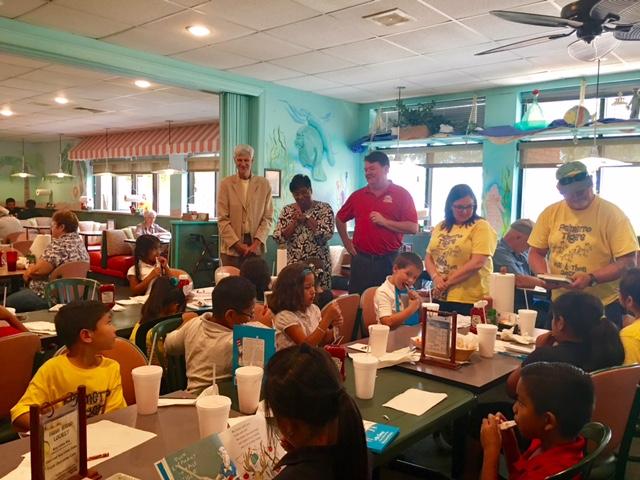 Palmetto Elementary School Visits AMOB