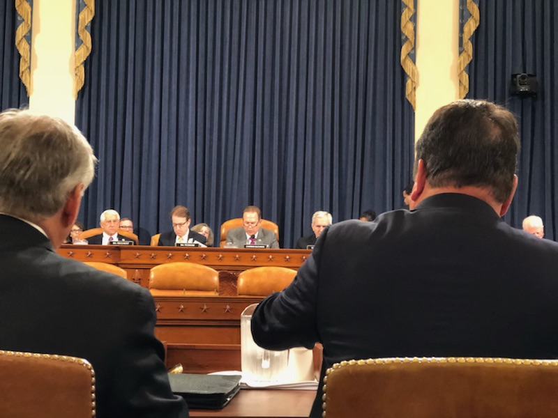 John Horne Testifies Before Congressional Subcommittee