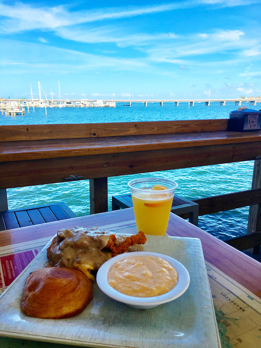 Breakfast on the Pier