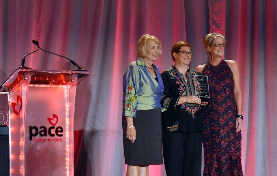 Amanda Horne Receives PACE Spirit for Leadership Award