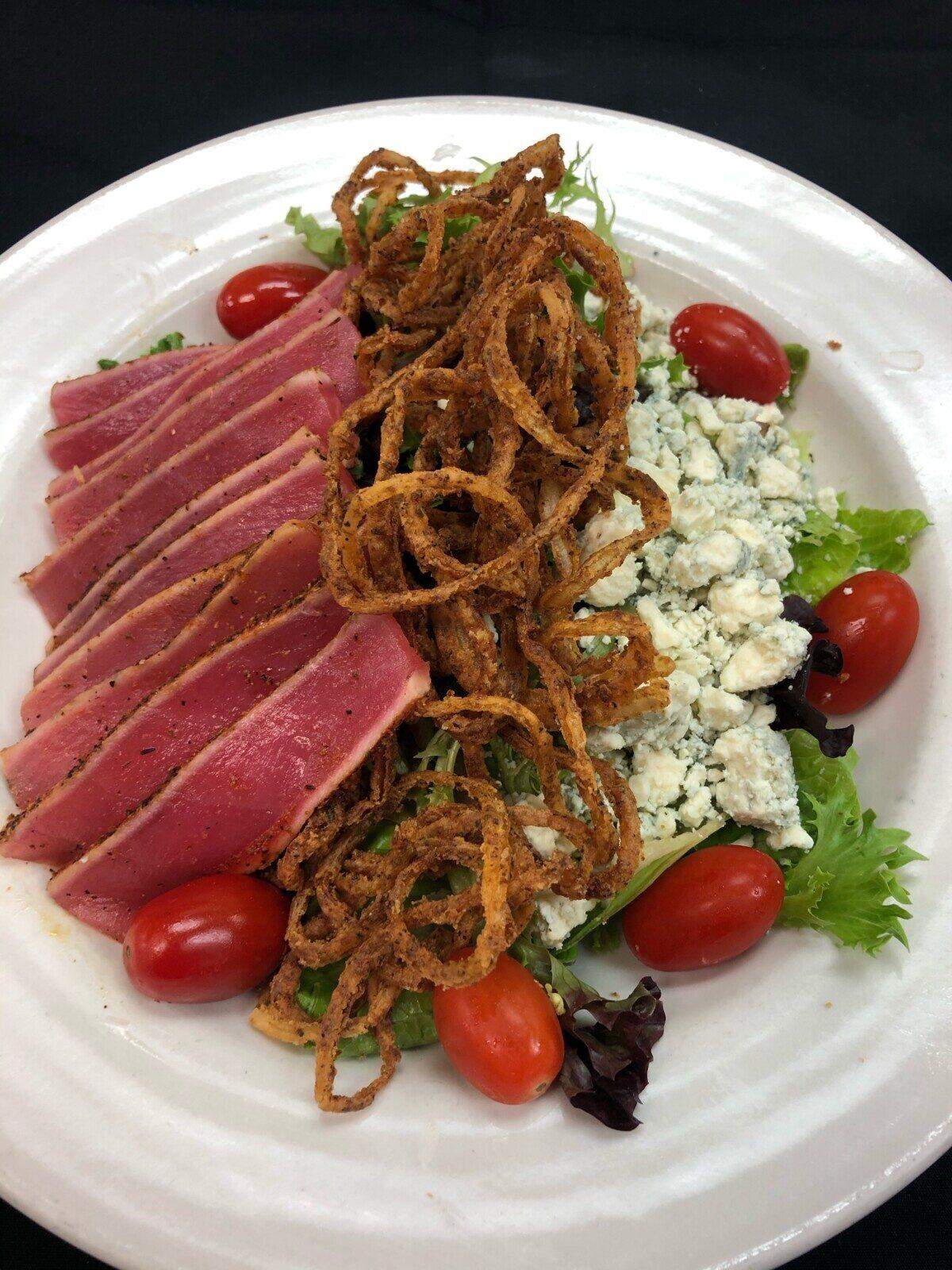 Tuna-Sashimi-Asian-Tuna-Salad